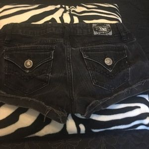 YMI black Jean shorts